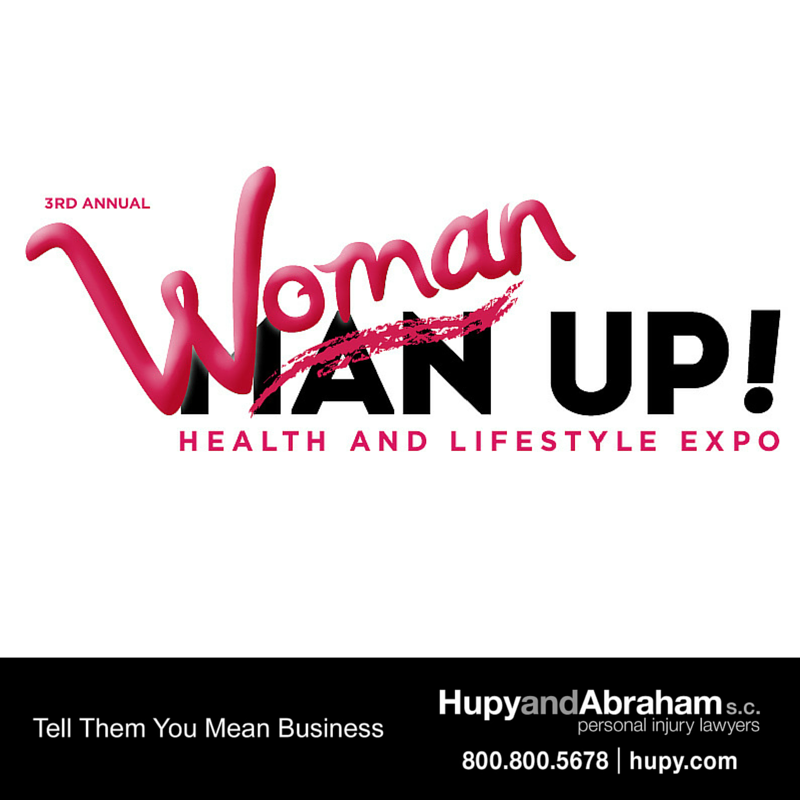 woman Up! Health and Lifestyle Expo logo