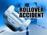 rollover accident on Interstate 5