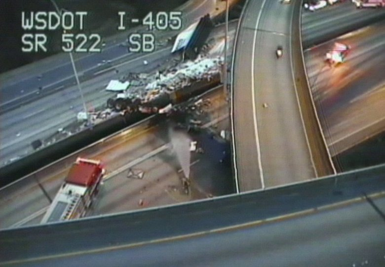 crash on interstate 405
