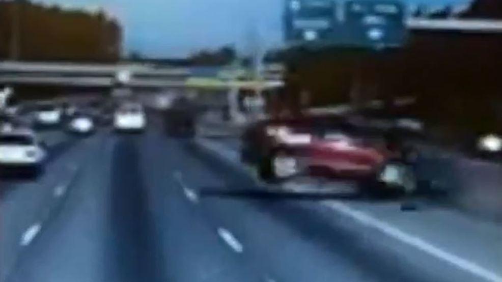 dash cam semi truck wreck