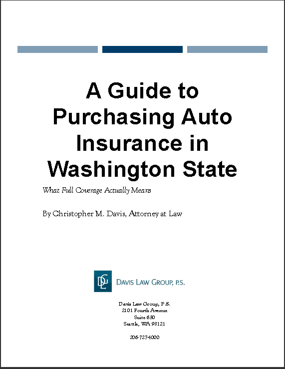 Guide to Purchasing Auto Insurance in Washington State