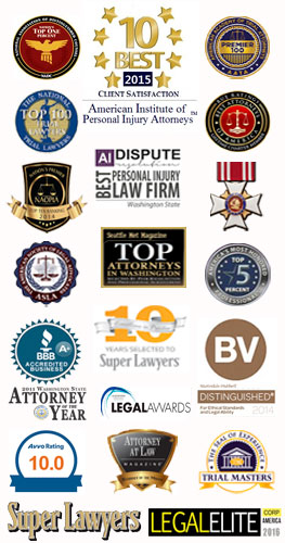 personal injury award winning attorney seattle washington