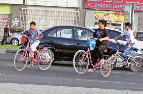 child bicycle accidents