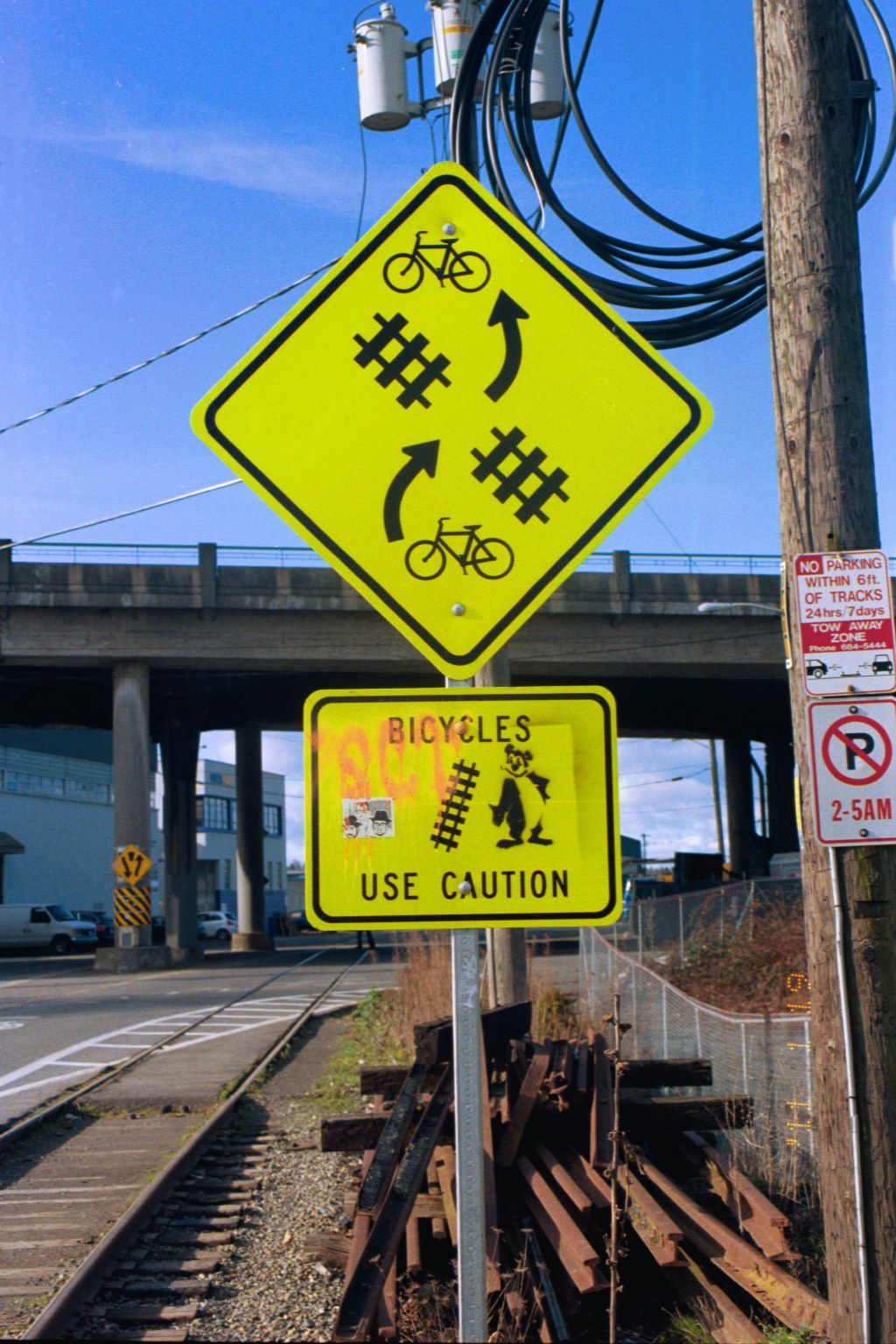 Burke-Gilman trail in Ballard