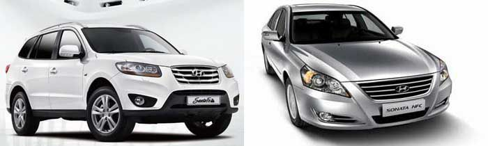 Hyundai Recalls Santa Fe, Sonata Models
