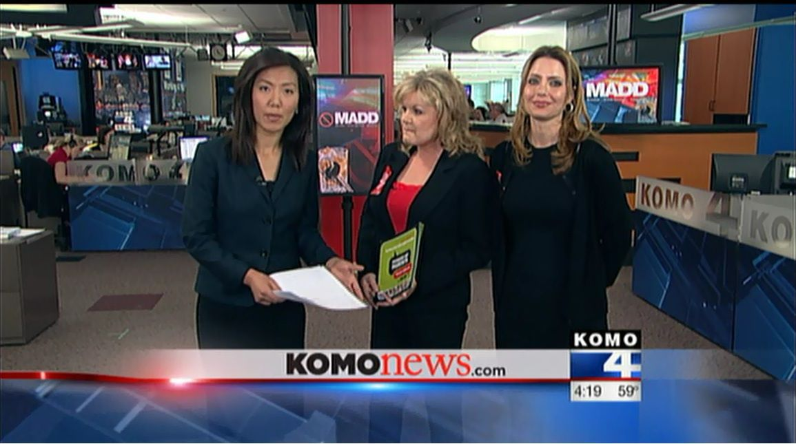 MADD Seattle Washington KOMO Interview