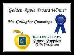 mary gallagher cummings teacher award
