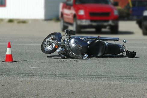 Hospitalized Motorcyclist in Lower Queen Anne