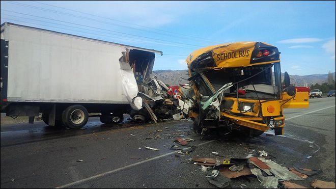 Fatal School Bus Crash in Orondo