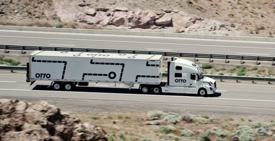 self-driving 18-wheeler