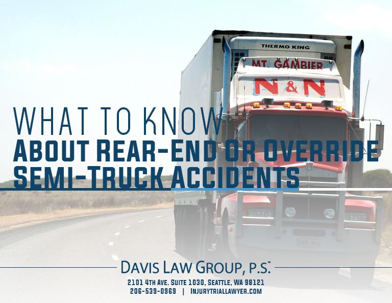 semi rear end collision