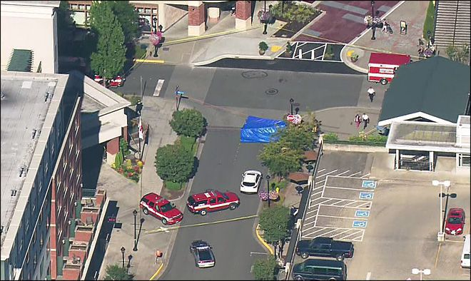 Redmond Mall Pedestrian Accident