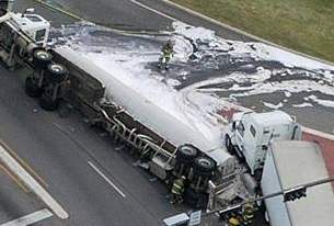 Over Height Semi Truck Wrecks