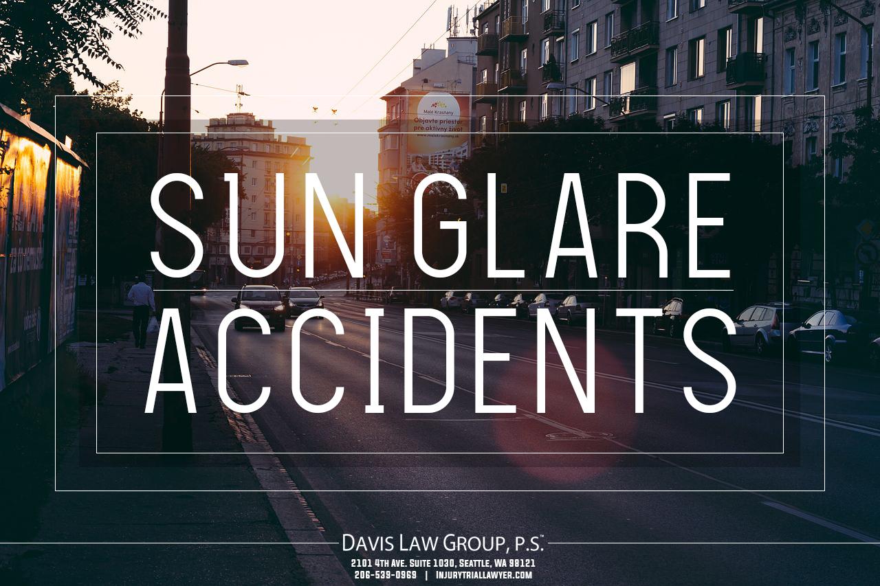 sun glare accidents