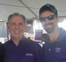 University of Washington President Michael Young and Attorney Chris Davis