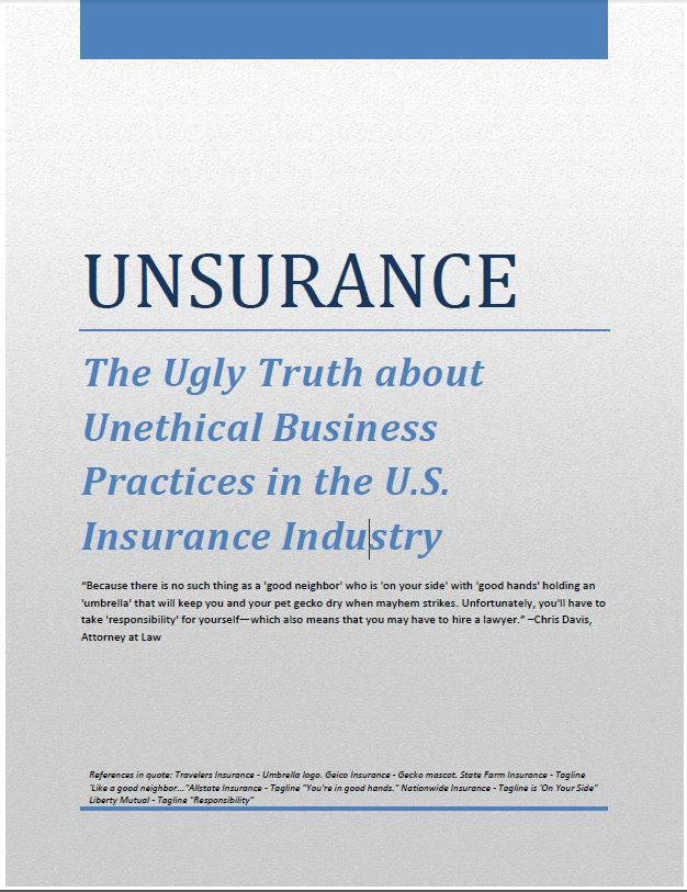 Insurance Industry Report Unsurance