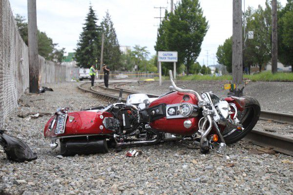 West Seattle Motorcycle Crash