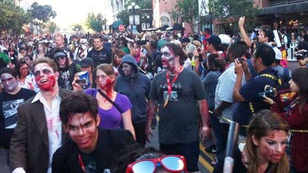 Pedestrian Zombie Victim