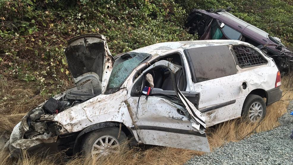 reckless driver I-5 crash