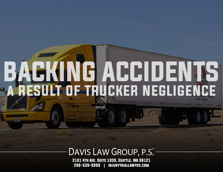 backing accidents semi-trucks