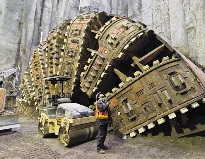 bertha tunnel machine seattle