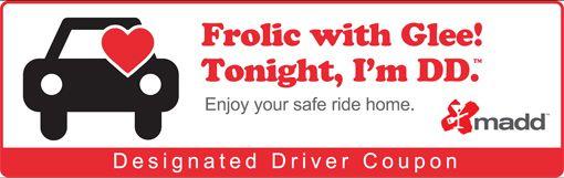 designated driver coupon
