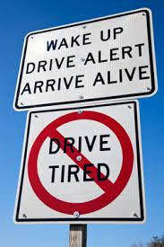 driving drowsy sleepy driver accident