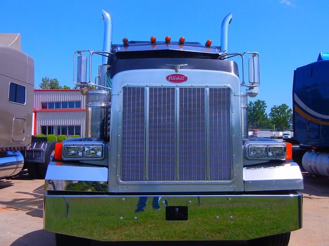 front of truck