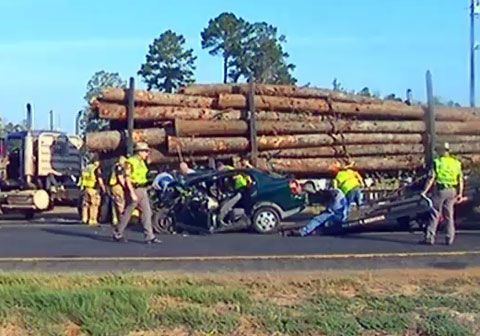 serious and fatal log truck accidents