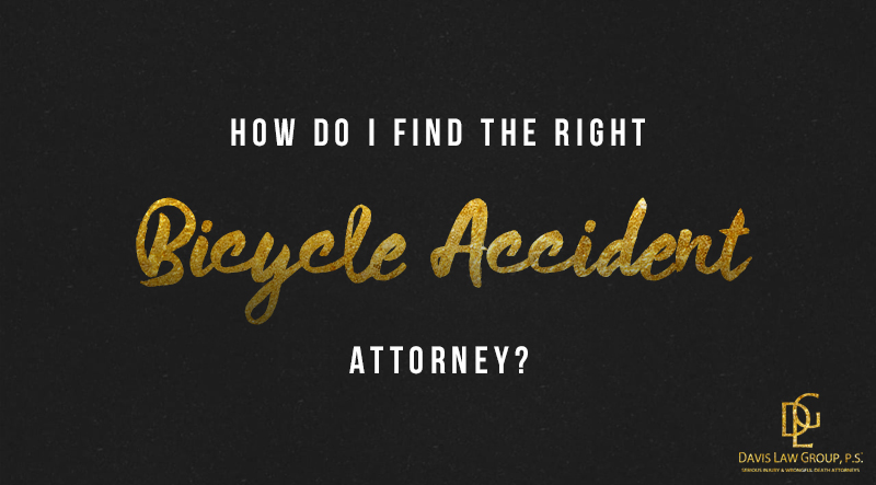 find the right bicycle lawyer