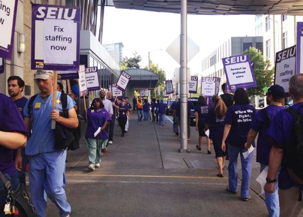 harborview malpractice nurses strike