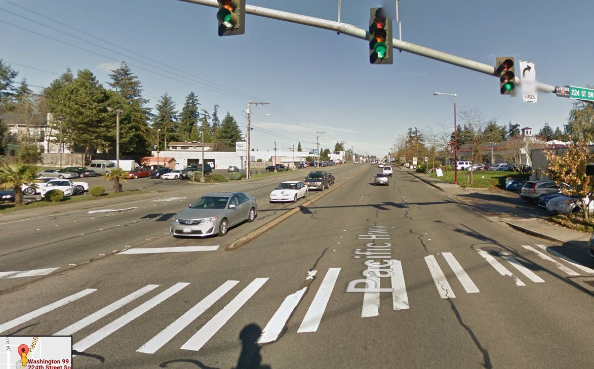 pedestrian accident on highway 99