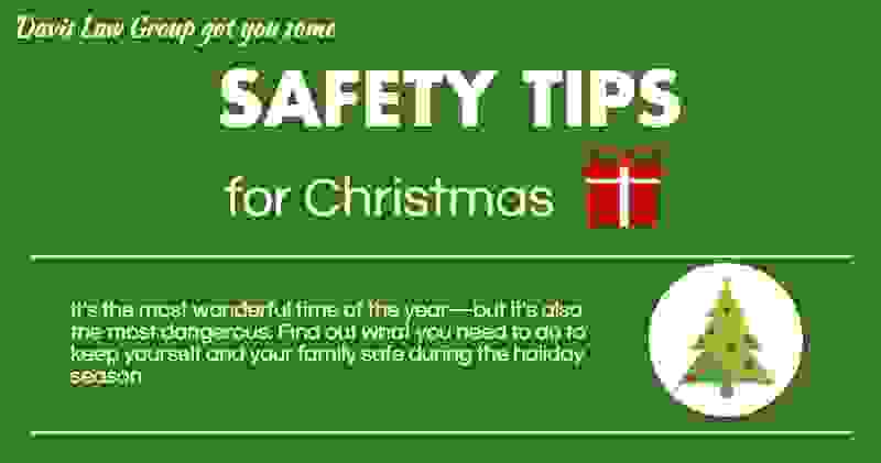 safety tips for the holidays