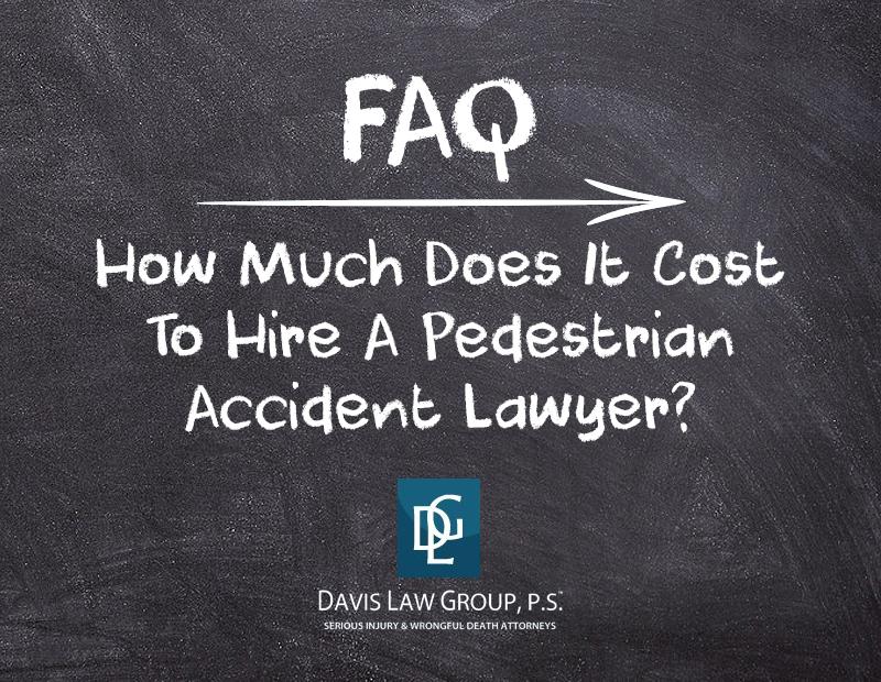pedestrian lawyer cost
