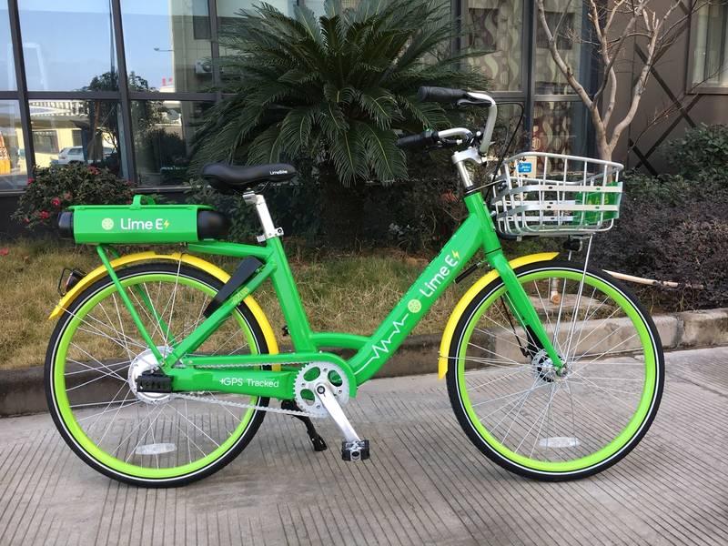 limebike e-bike