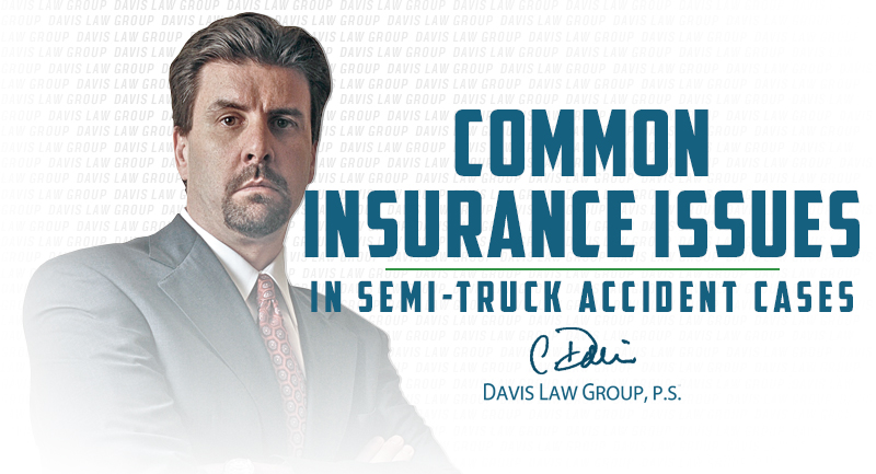insurance issues semi accident