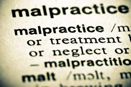 Medical malpractice, mistakes