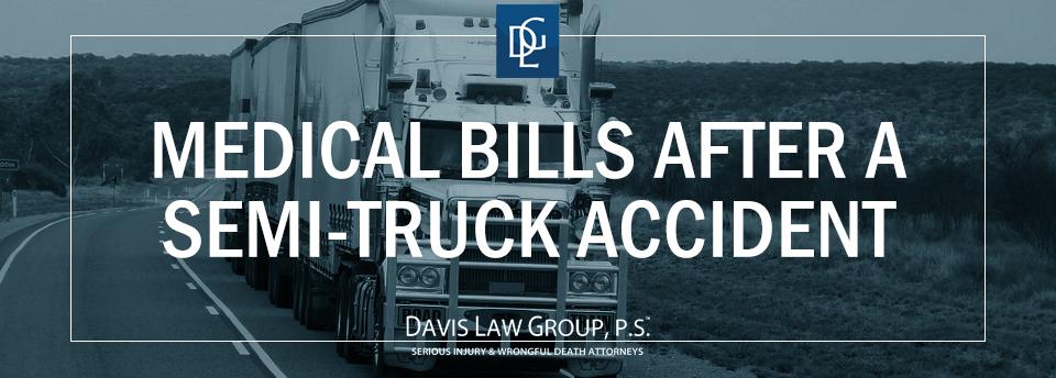 semi truck medical bills