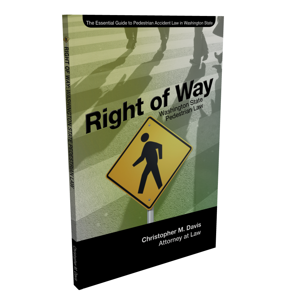 pedestrian accident law book guide by attorney in seattle