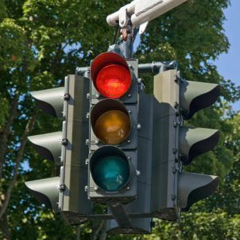 running a red light causes accident seattle washington state law