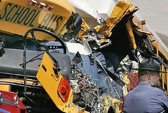 serious school bus crashes