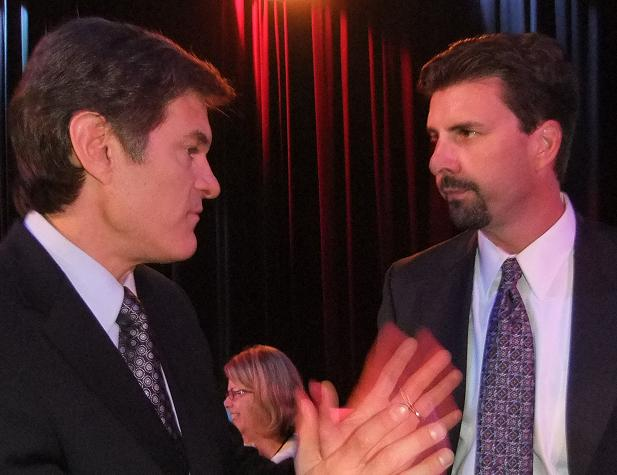 Seattle attorney Chris Davis with Dr. Oz