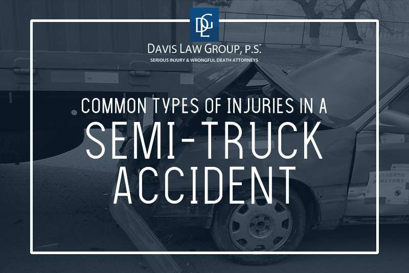 semi truck injuries
