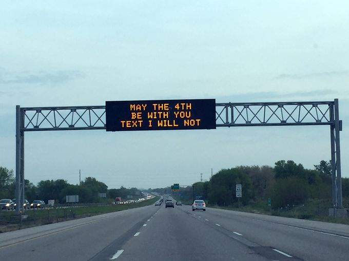 star wars traffic safety promotion