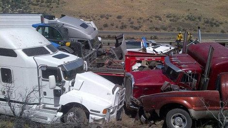 vantage washington smoke car crash accident