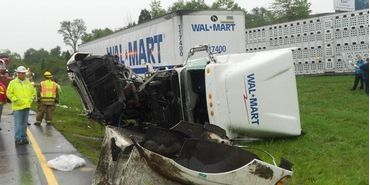 wal-mart truck accident