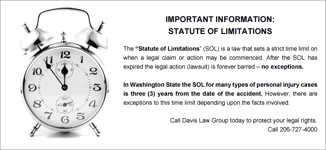 what is the statute of limitations
