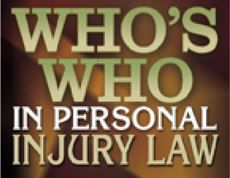 Who's Who in Personal Injury Law