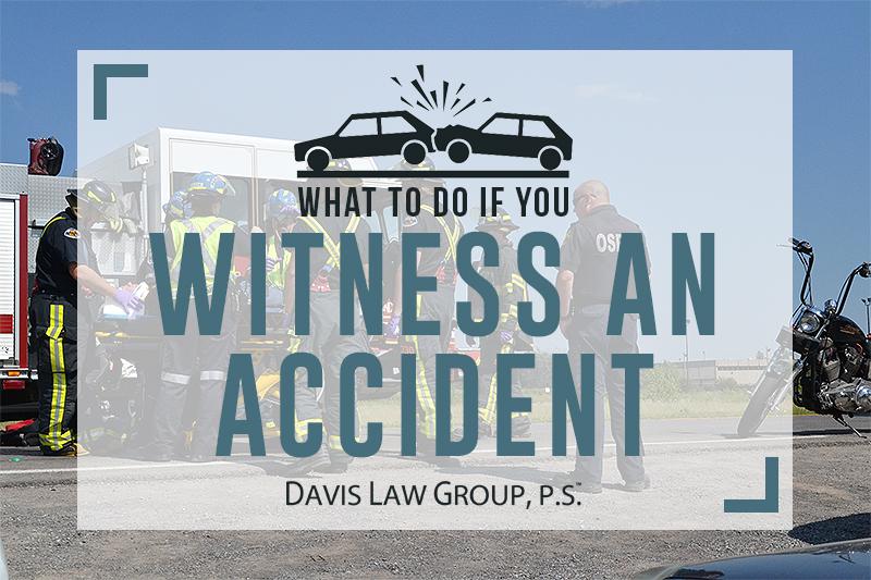 WITNESS accident