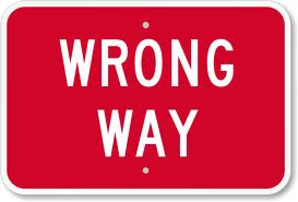 wrong way driving accidents